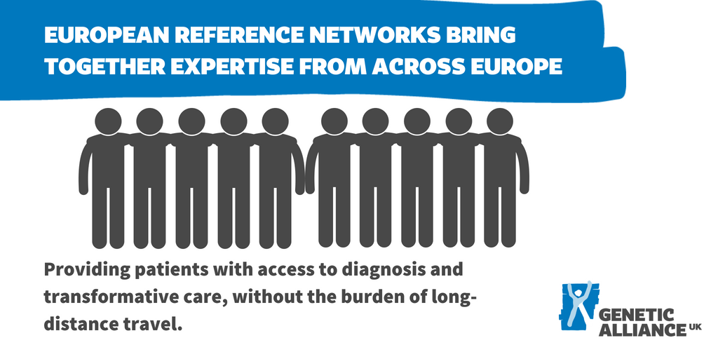 European Reference Networks bring together expertise from across Europe, without the burden of long distance travel.