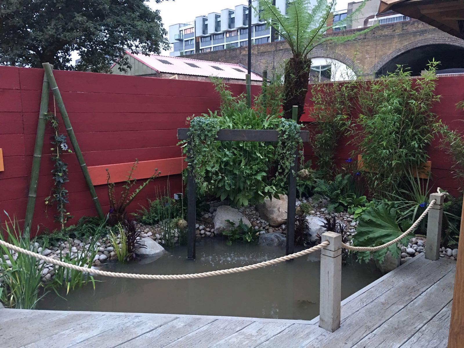 New garden.