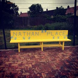 Nathan's Place bench.