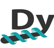 Dynacure logo.